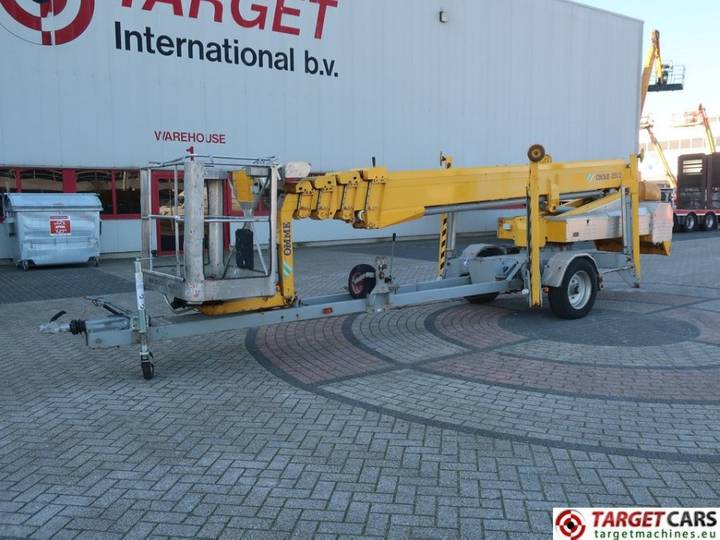 Omme 2500EBZ Telescopic Tow Trailer Boom Lift 2510cm - 2008
