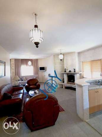 Faraya - 110m2 furnished chalet for rent - 5 minutes from the slopes