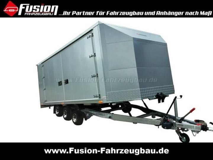 Premium RaceTransporter kippbar 550x220x180cm