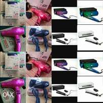 Parlux hairdryer and ghd platinum hair irons