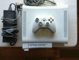 Xbox 360 with intercooler like new