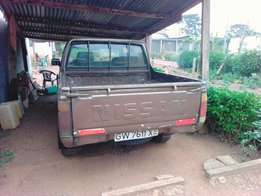 Nissan pick up in a very good condition. Quick selling.