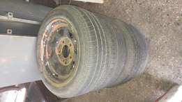 Ford cortina rims and tyres 185/60/14