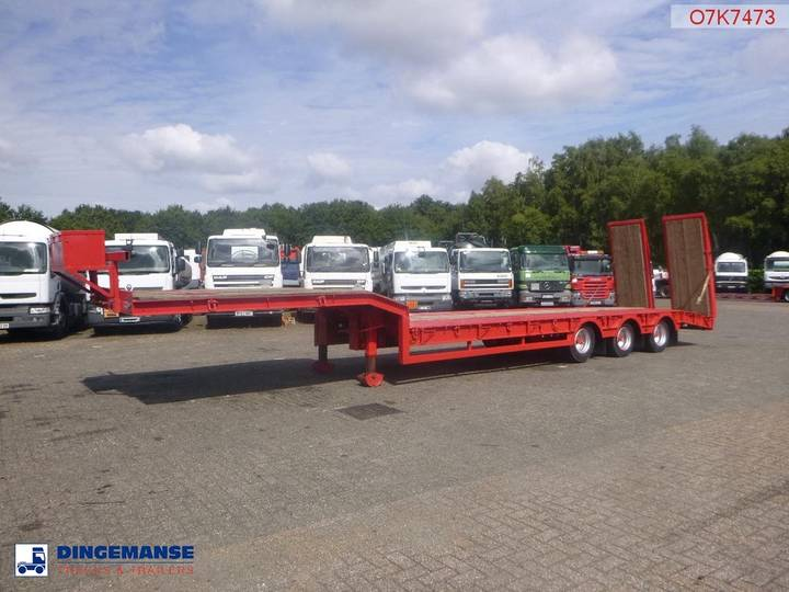King Semi-lowbed trailer + ramps - 1997