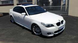 2007 BMW 525i M Sportpack with many extras