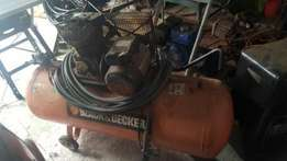 Compressor 200 liter tank for sale