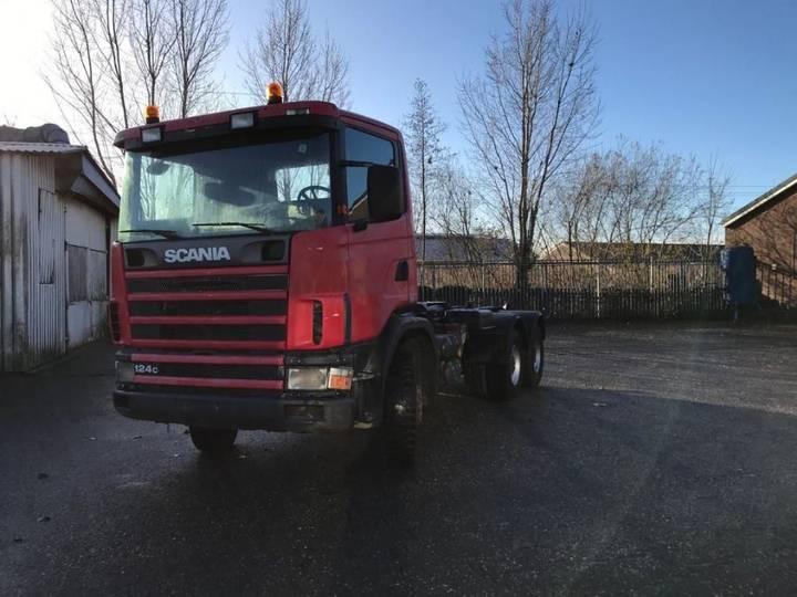Scania 124.420 6x4 - 2000