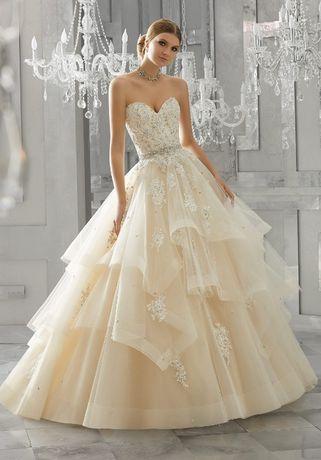 Wyjątkowa Suknia ślubna Mori Lee 2018 Model 8184 Księżniczka