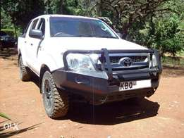 2010 Toyota Hilux D/cab D4D, automatic 2.5L turbo diesel, very clean
