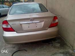 2003 Tokunbo Camry accident free Lagos cleared