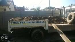 rubble removals and furniture removals
