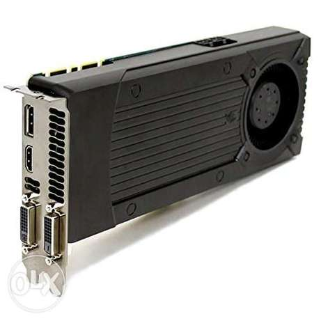 Nvidia GeForce GTX 670 2GB GDDR5 PCIe x16 DP DVI HDMI Graphics Card