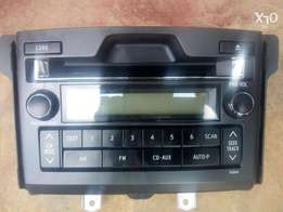 TOYOTA PRADO Car stereo. Factory Cd changer