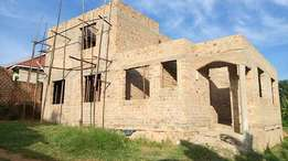 Shell house in namugongo five bedrooms at 150m