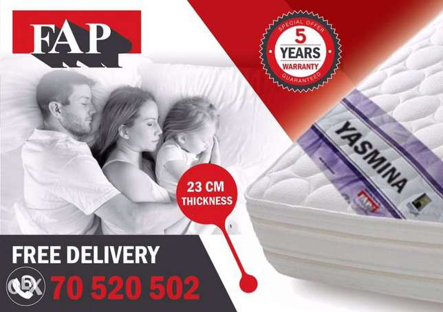 yasmina mattress by fap