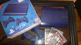 ps3 Limited edition blue 500 gig