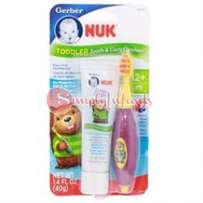 NUK Grins & Giggles Toddler Tooth and Gum Cleanser, 1.4 Ounce