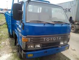 Toyota truck up for grabs