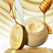 Oriflame MILK & HONEY GOLD cream and scrub
