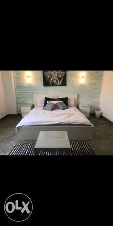 Two bedrooms big furnished flat