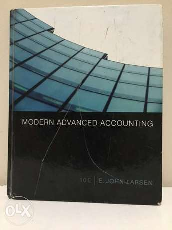 Modern Advanced accounting (JOHN LARSEN) ten edition كتاب محاسبة متقدم