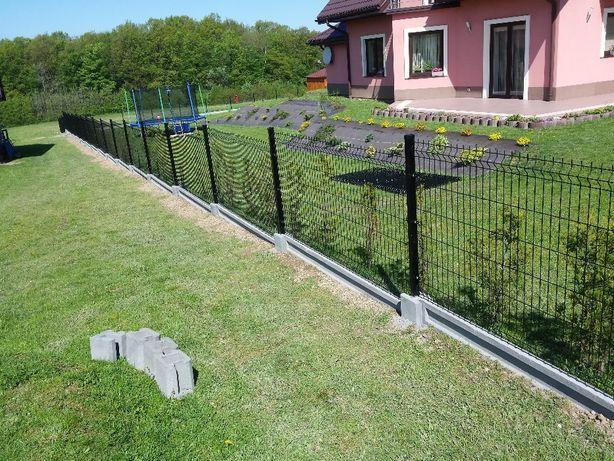 Nietypowy Okaz Ogrodzenie Panelowe kompletne 49zł mb Ogrodzenia Nowy Sącz • OLX.pl JG81