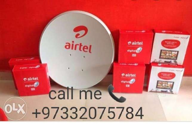 Airtel DTH receiver and Dish fixing call me