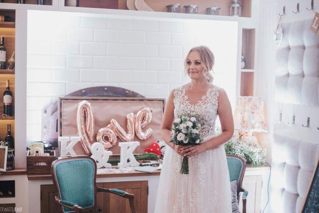 bb07068571 Suknia ślubna Julia Gastoł Różowy Tiul Gdynia Wzgórze świętego