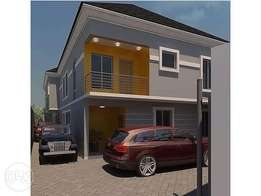 Luxury newly built 4bedroom duplex at Yabatech Yaba Lagos