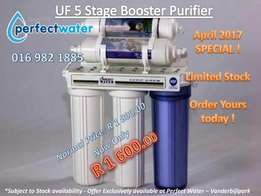 Special offer!! UF 5 Stage water purifier R1600.00