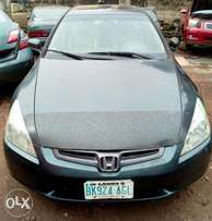Very clean 1st body,V4,sound,super sharp Reg HONDA ACCORD EOD 03model.