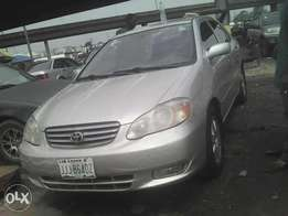 Toyota Corolla 4 months used