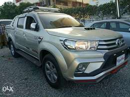Toyota Hilux Double Cab Revo. KCP number 2011 Model. Facelift 2016 m