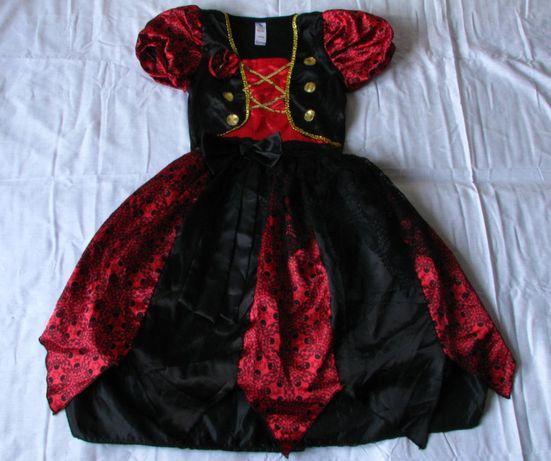d546e27c75 Archiwalne  Sukienka karnawałowa Piratka r 110-116