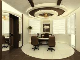 Interior design and office partitioning
