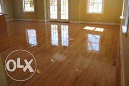 sanding and sealing of any wooden floors, repairs too etc.