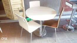 Brand new imported restaurant table and chair
