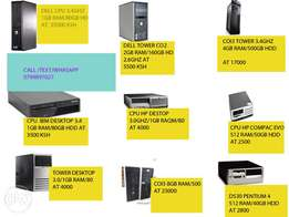 cheapest cpu desktop available 3.4ghz/1gb ram/80gb hardisk 3500 only