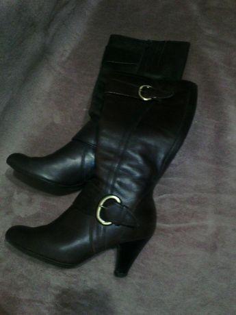 Шкіряні осінні сапожки 39р.  1 000 грн. - Жіноче взуття Рівне на Olx 93228759c5770
