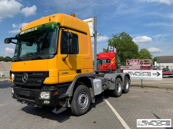 Mercedes-Benz Actros 3360 German truck - Manual - Eur 5 - Retarder - 2008