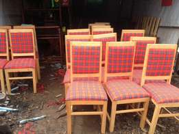 A set of chairs