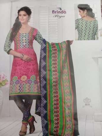 Brinda cotton salwar suit 3 pices Mombasa Island - image 5