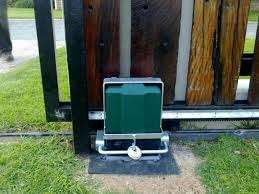 Electric fence and gate motor installer , repair