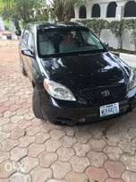 Very neat black Toyota Matrix