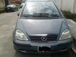 02 Mercedes benz a140 classic registered