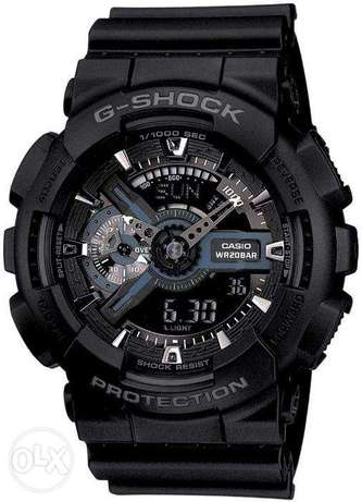New Original Casio Professional G-Shock watch (black) الرياض -  1