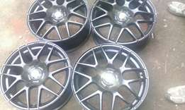 Sport rims size 17 used for benz