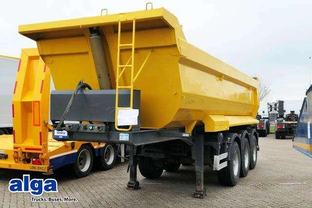 Öztreyler, 3 Achser, Stahl Mulde, 23 M³., Hardox - 2012