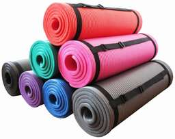 Gym exercise yogamat and floor mat