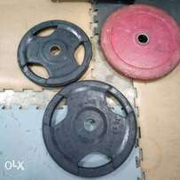Olympic plates 1500 per kg